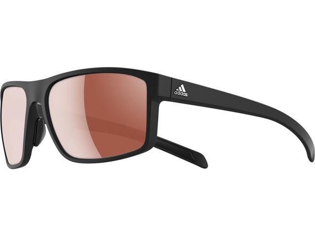 adidas Whipstart Bril, black matt/black